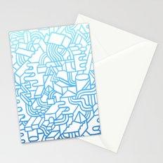 Wave Machine Stationery Cards