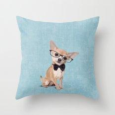 Mr. Chihuahua Throw Pillow