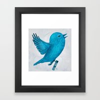 The Original Twitter - P… Framed Art Print