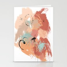 Unrestrained, Abstract A… Stationery Cards