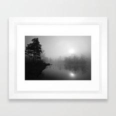 March Mist Framed Art Print
