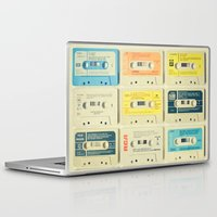 retro Laptop & iPad Skins featuring All Tomorrow's Parties by Cassia Beck