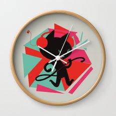 Air Cat Wall Clock