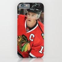 jonathan toews // chicago blackhawks iPhone 6 Slim Case