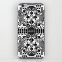 symmetry and a little bit of assymetry iPhone & iPod Skin