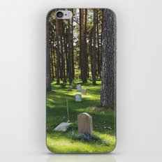 Skogskyrkogården iPhone & iPod Skin