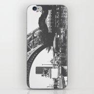 Paris Life Black And Whi… iPhone & iPod Skin