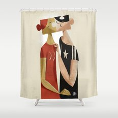 The puzzle Shower Curtain