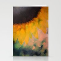 Sunflower I (mini series) Stationery Cards
