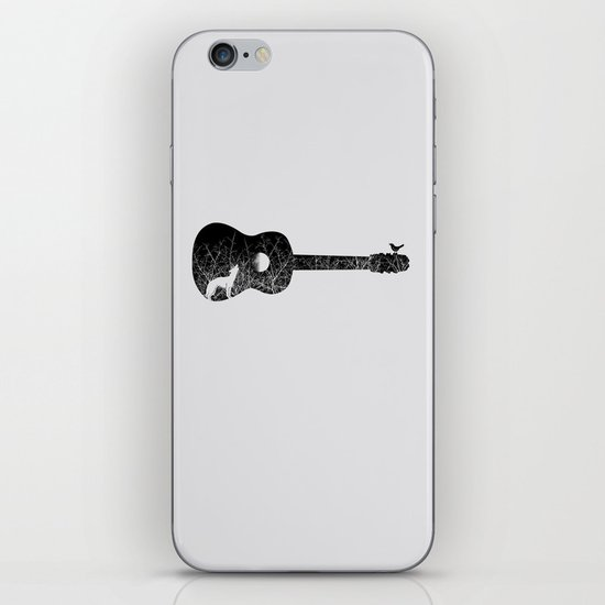 Night sounds iPhone & iPod Skin