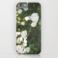 iPhone & iPod Case featuring White Roses by Gilganizer