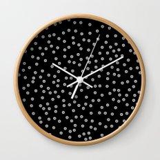 Watercolor Dots Wall Clock