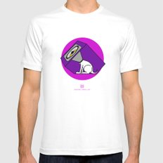 Wireless Woofer Mens Fitted Tee White SMALL