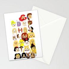 Princess Alphabet Stationery Cards