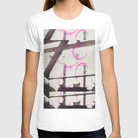 Shine Womens Fitted Tee White SMALL