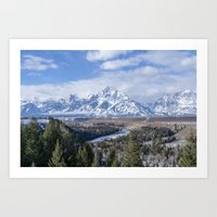 Snake River Overlook Art Print