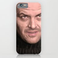 iPhone & iPod Case featuring Jack Torrence by Thousand Lines Ink
