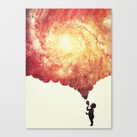 The Universe In A Soap-b… Canvas Print
