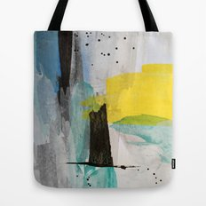 Misty Sunny Morning Tote Bag