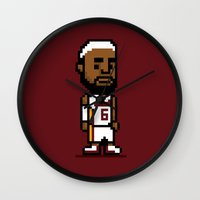 8-Bit: Lebron James Wall Clock