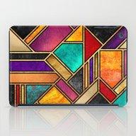 Colorful City Night iPad Case