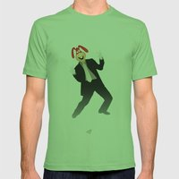 Manic Noid Mens Fitted Tee Grass SMALL