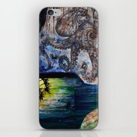 Literary Octopus iPhone & iPod Skin