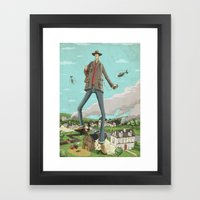 Tall Framed Art Print