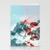 another abstract dream 2 Stationery Cards