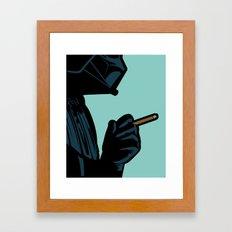 The secret life of heroes - DarkBreath Framed Art Print