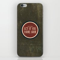 To Indeed Be A God iPhone & iPod Skin