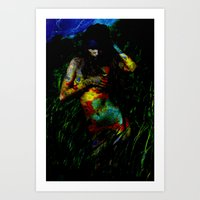 Near the Abyss Art Print