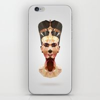 Polygon Heroes - Nefertiti iPhone & iPod Skin