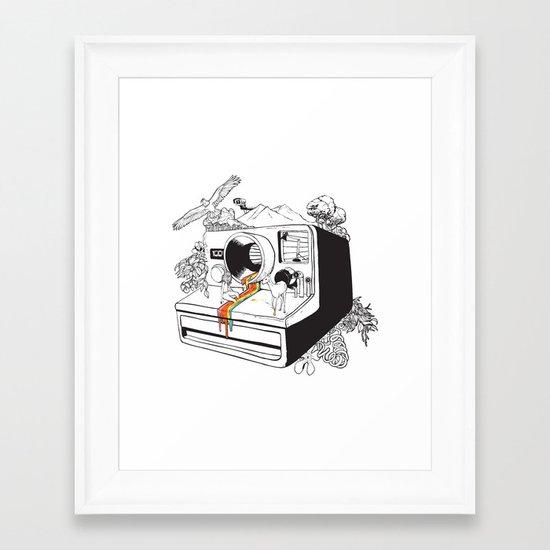 Captured Nostalgia Framed Art Print