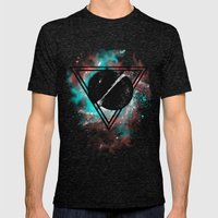 Original Space Mens Fitted Tee Tri-Black SMALL