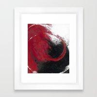 Smoldering Framed Art Print