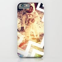 iPhone & iPod Case featuring ON THE MOON by Ylenia Pizzetti