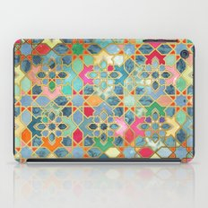 Gilt & Glory - Colorful Moroccan Mosaic iPad Case