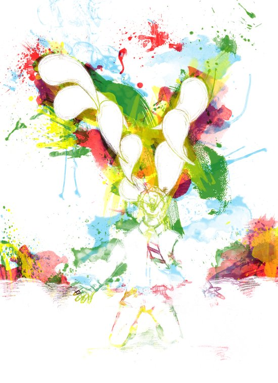 Colorful Soul Art Print