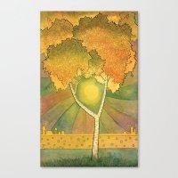 Birch 2 Canvas Print
