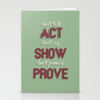 Motivational, Inspiring … Stationery Cards