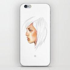 Coloured White iPhone & iPod Skin
