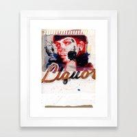 LiQUORSCAPE Framed Art Print