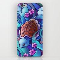 Water Turtle iPhone & iPod Skin
