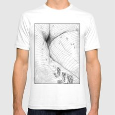 asc 660 - La route des origines (Bab alhaya) Mens Fitted Tee White SMALL