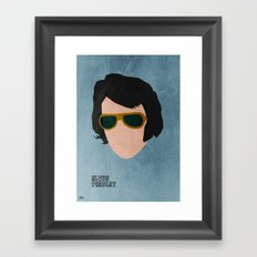 Rock Legends - Elvis Presley Framed Art Print