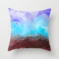 Gathering Your Storm Throw Pillow