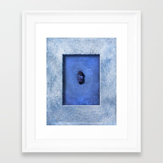 fell from the sky Framed Art Print