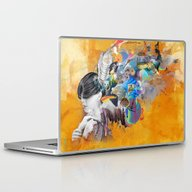 Laptop & iPad Skin featuring Floating Mind by Archan Nair