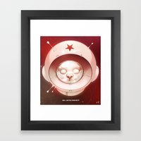 Hall, Can You Hear Me? Framed Art Print